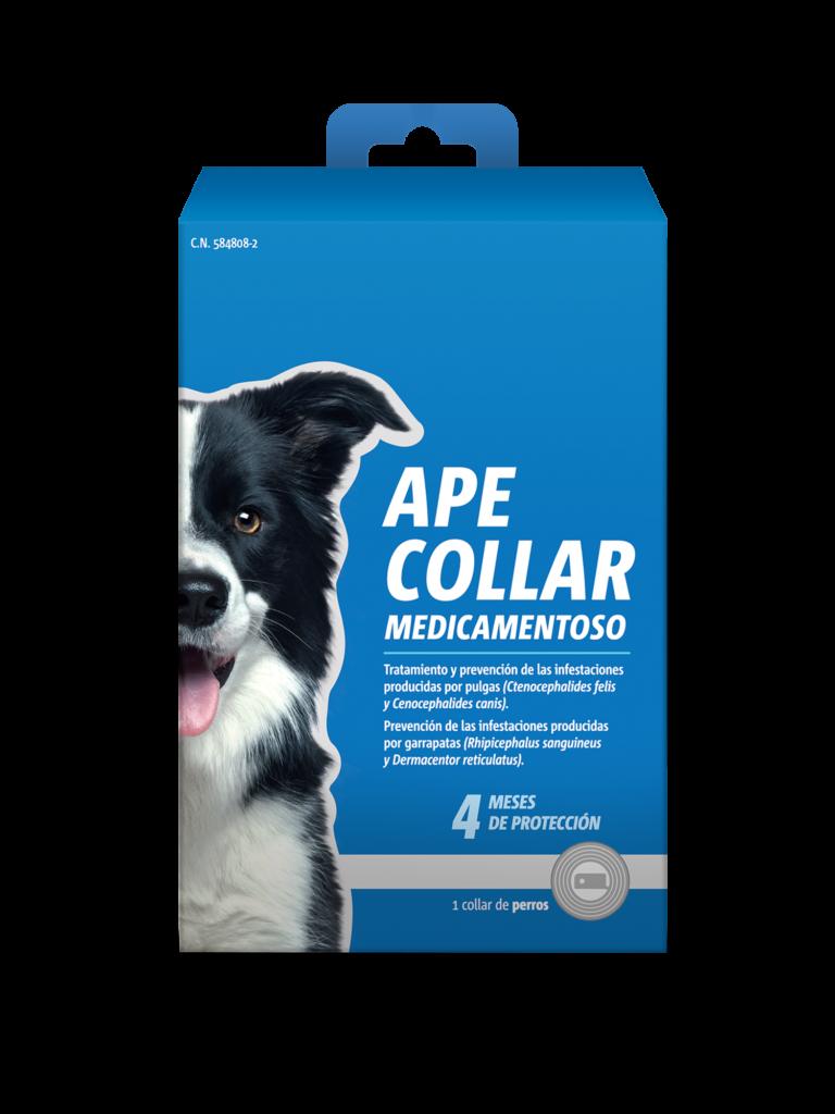 Collar antiparaistario de perros