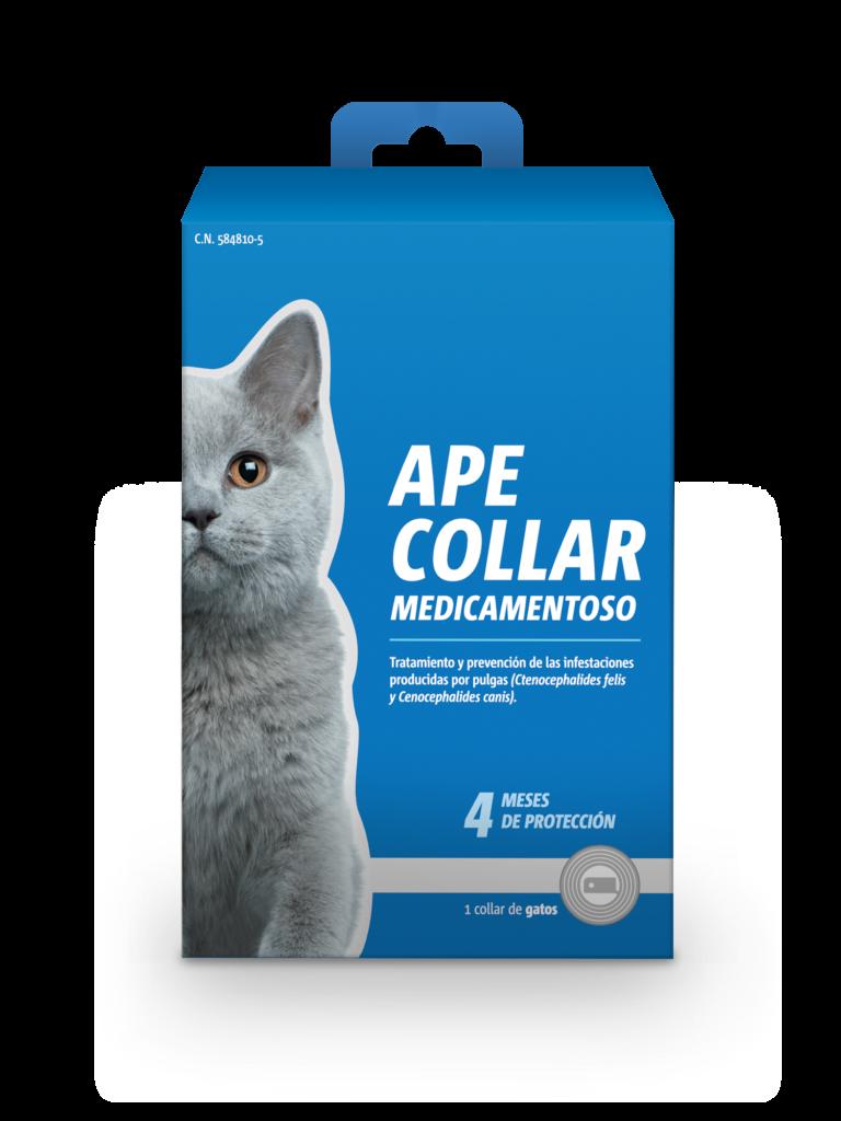 Collar antiparasitario gato